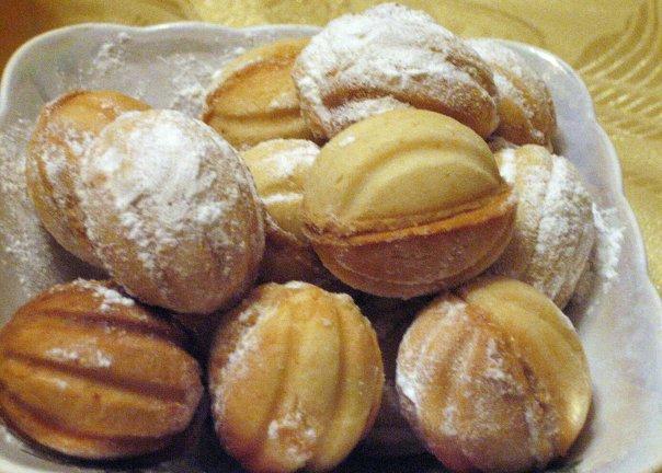 Пирожное орешки рецепт с фото